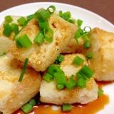 揚げ焼きで簡単☆揚げ出し豆腐