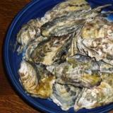 レンジで簡単 蒸し牡蠣