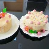 ひな祭りに♪超簡単ホワイトチョコガナッシュケーキ
