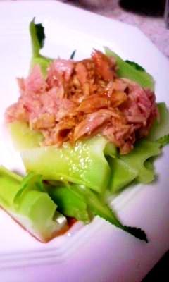 ブロッコリの茎をおいしく!ブロッコリの茎サラダ