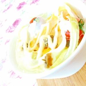 ❤Qちゃんと玉葱&白菜&トマトのエッグココット❤