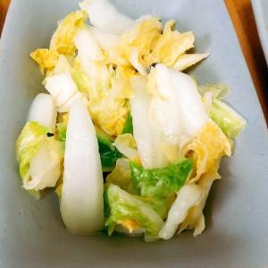 花椒をつかって◎白菜の中華風甘酢漬け