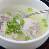 米のとぎ汁でトロ~リ☆ 絶品「参鶏湯風」