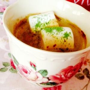 美的❤︎マシュマロ青汁豆乳コーヒー