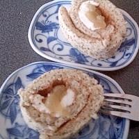 甘さ控えめクリームチーズとリンゴジャムの紅茶ロール