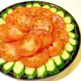トマトときゅうりのサラダ