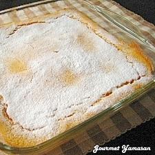 さつまいもの豆乳スフレケーキ(グルテンフリー)