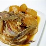 簡単!鯛のかぶと煮