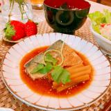 胡麻香る♡サバの酢味噌煮