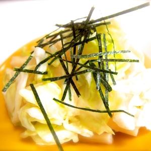 ぱぱっともう一品♫長芋とキャベツの浅漬け