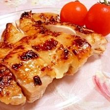 鶏もも肉de❤白ワインハニー焼き❤