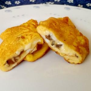 きゅうりのキューちゃんとチーズの玉子焼き