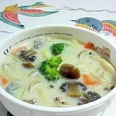 野菜の豆乳入りスープ♪