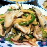 牡蠣のチンジャオロース風♡私の牡蠣の楽しみ方(8)