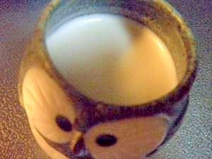 ピーナツバター★きなこミルク