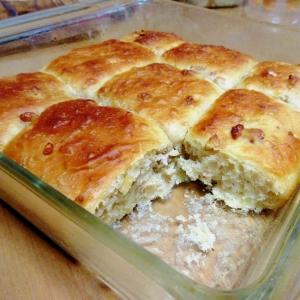 生姜とナッツのパン