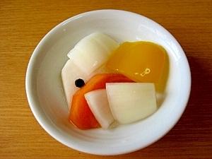 三温糖を使ったカラダにやさいいピクルス