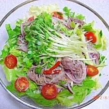 タイ風牛肉のサラダ