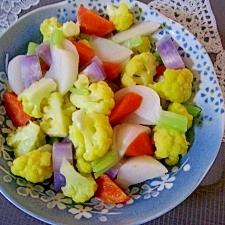 冬野菜のホットサラダ風バターソテー