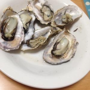我が家の(*^^*)牡蠣の酒蒸し風〜〜★