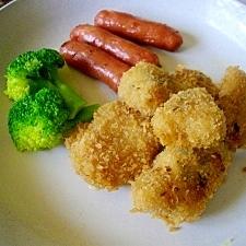 塩麹とハーブで漬けた ☆白身魚のフライ☆