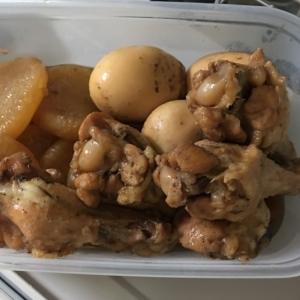 ホットクックで簡単!鳥手羽と大根の煮物