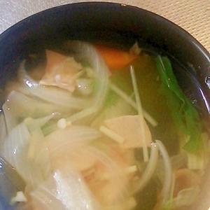 野菜のすまし汁