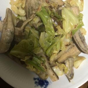 【男の節約レシピ】ナスとキャベツの醤油マヨ炒め