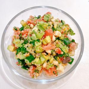 【コストコ消費】おもてなしキヌアサラダ