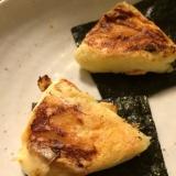 雪印チーズのバター醤油海苔巻き
