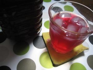 初夏の風物詩 赤紫蘇ジュース