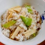 雑穀米で☆たけのこご飯