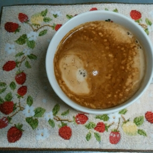 しあわせ♪ふわふわマシュマロコーヒー