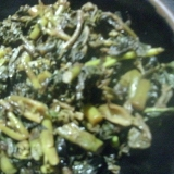ウドの葉の佃煮