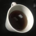 簡単ヘルシー!粉末緑茶&コーヒーのホッとドリンク♪
