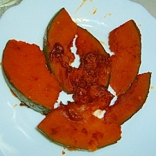 かぼちゃのコチュジャン煮