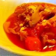 ほっこり☆チキンのトマト煮込み