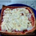 きのこのピザトースト