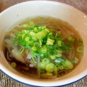 大根、椎茸、青ねぎのスープ