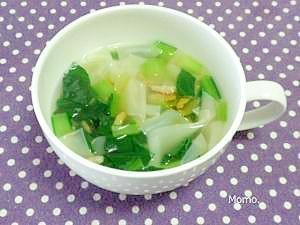 トロトロ♪餃子の皮の中華スープ