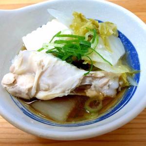 ポン酢であっさり☆手羽と白菜鍋