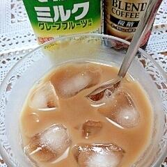 【キレイ応援朝食】アイス☆ザバスきなこカフェオレ♪