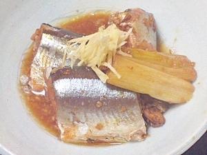 醤油麹のコクを味わう♪圧力鍋でサンマの柔らか煮