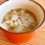 作り置きに☆キャベツとベーコンのスープ