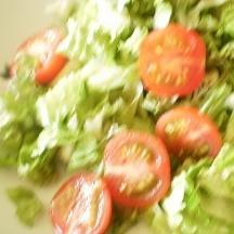 サニーレタスとミニトマトのフレッシュサラダ