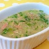 【離乳食】ツナ&キャベツのとろみ煮