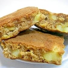 HMで作る☆ 大人の味のアップルシナモンパンケーキ