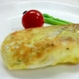 おしゃれカフェごはんイタリアン風白身魚のピカタ
