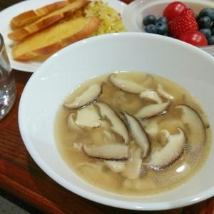 しいたけのスープ