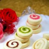 超簡単♡材料3つシュガーロールクッキー♡